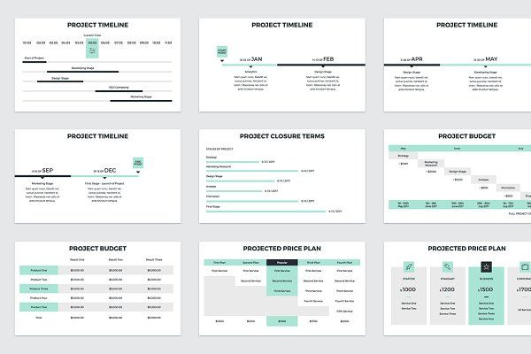 Project Proposal Powerpoint Template Pitch By Ral Rosario