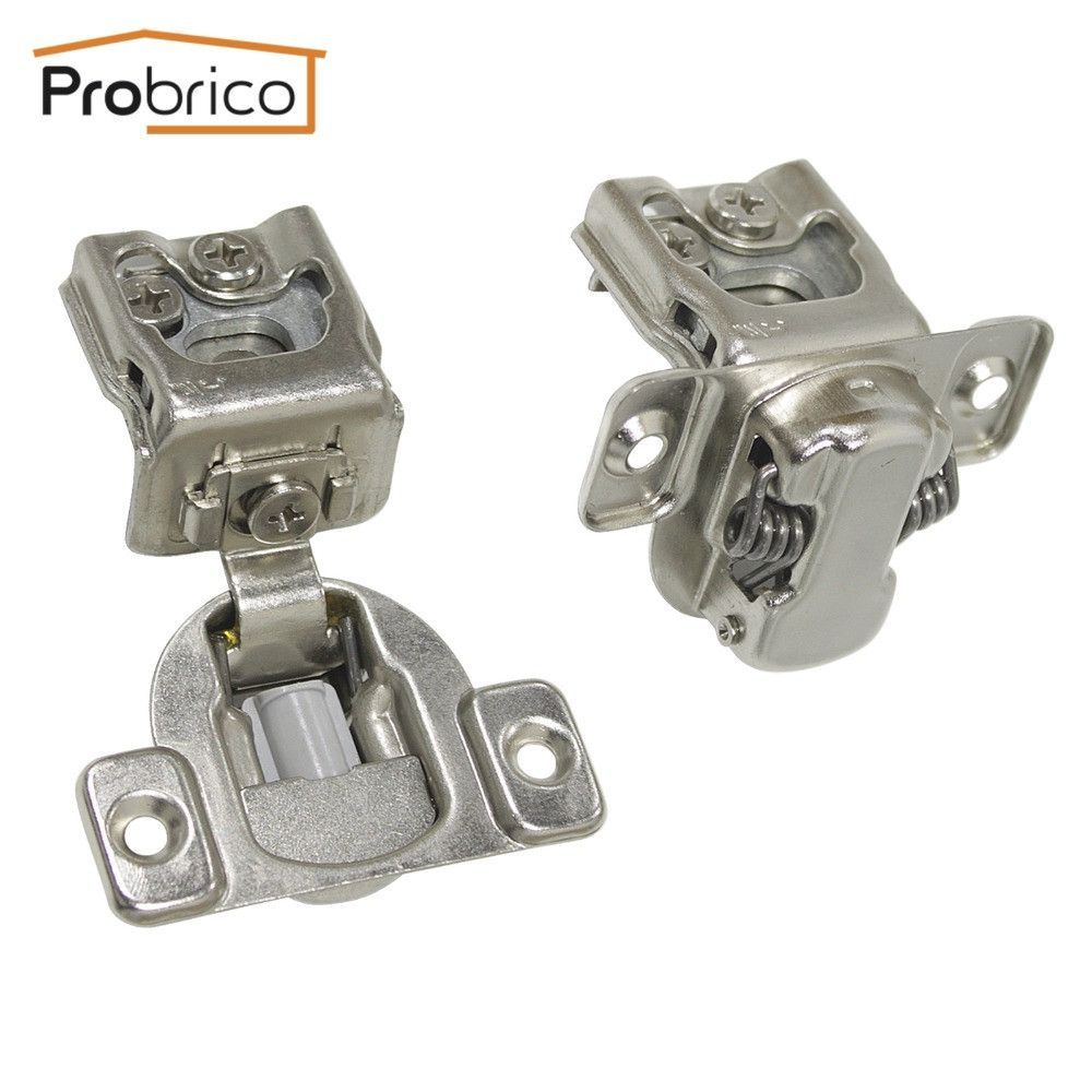 Probrico 20 Pair Soft Close Kitchen Cabinet Hinge Chm36h1 1 4 Concealed Frame Insert Overlay F Cupboard Door Hinges Hinges For Cabinets Kitchen Cabinets Hinges