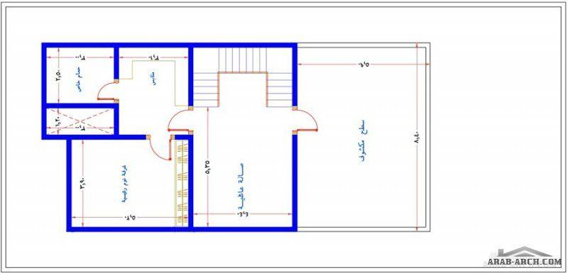مكتب الراجحي الهندسي مخطط رائع فيلا 12 25 متر تصميم سعودي Design Floor Plans Excellence