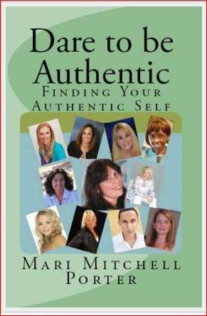 26 real life stories of people who 'Dare to be Authentic'.  (It's quite the inspirational book!) Available through my website at http://cometotheedgetoday.com