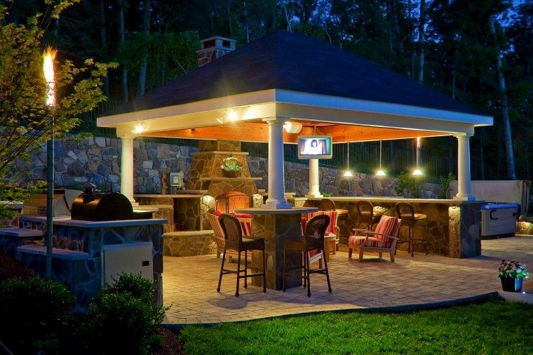 outdoor living - Gazebo Patio Ideas