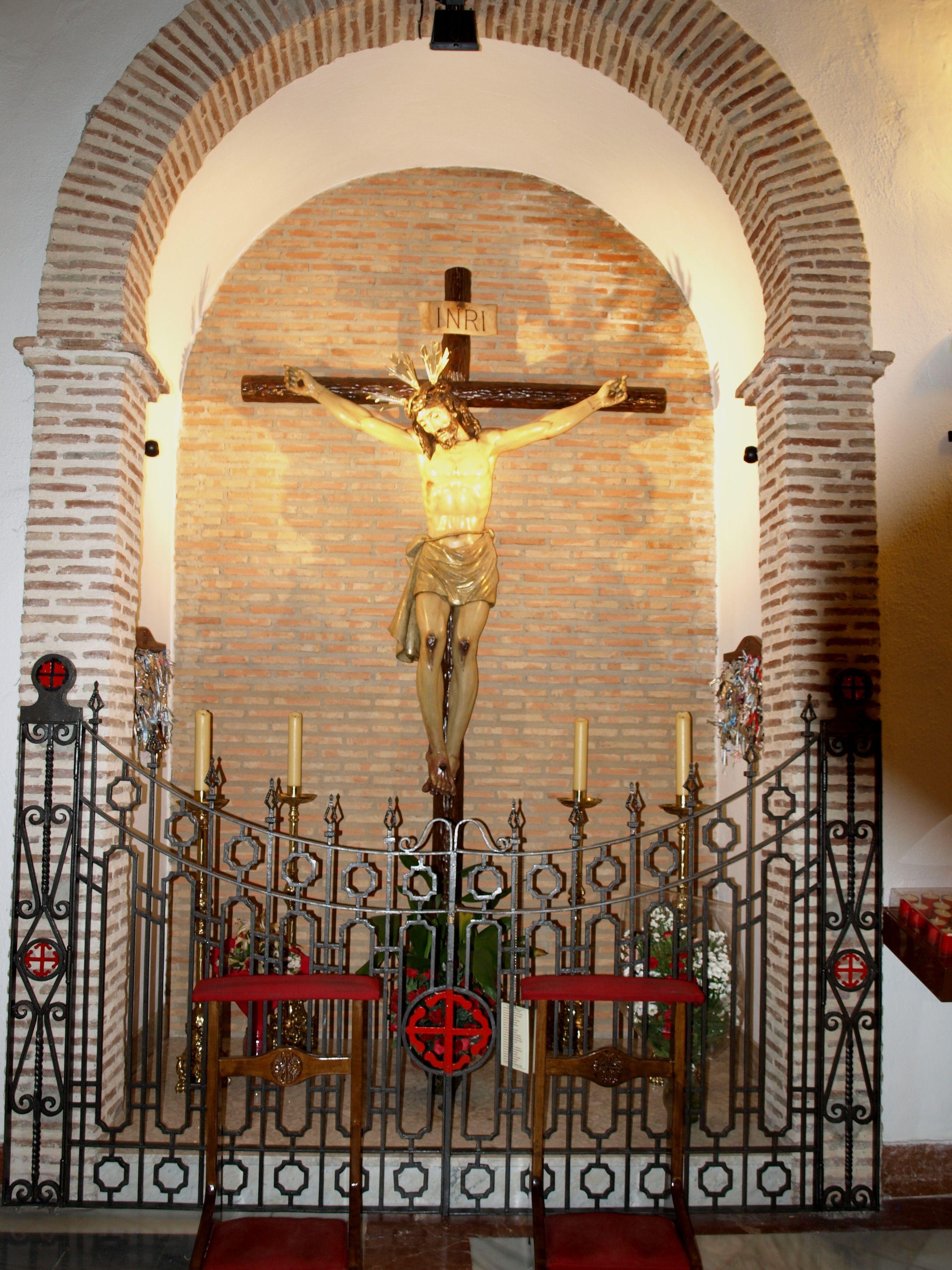capilla del cristo de la Fe y del Consuelo