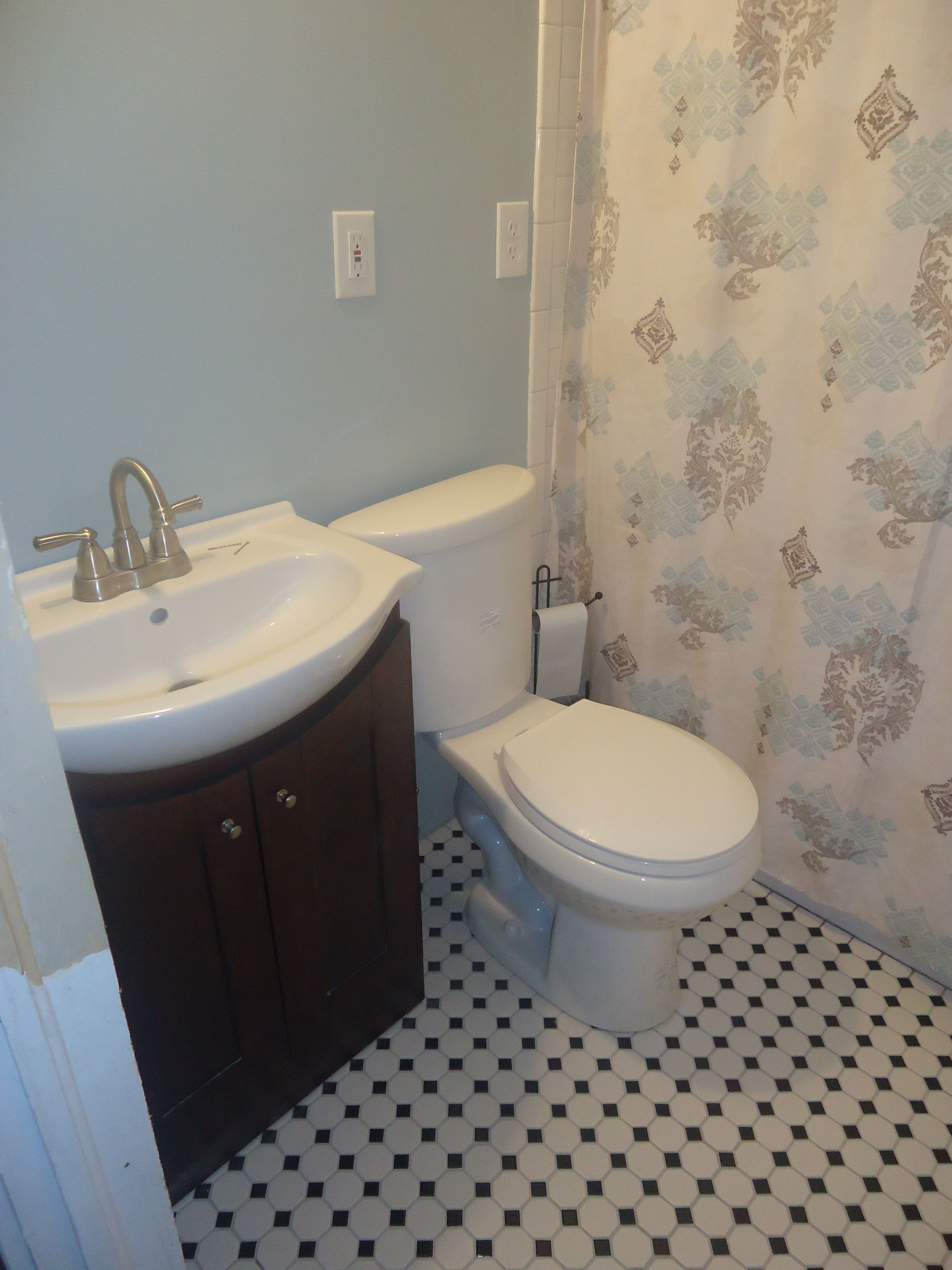 Bathrooms Blue Mountains: All 3 Bathrooms Rocky Mountain Sky By Behr