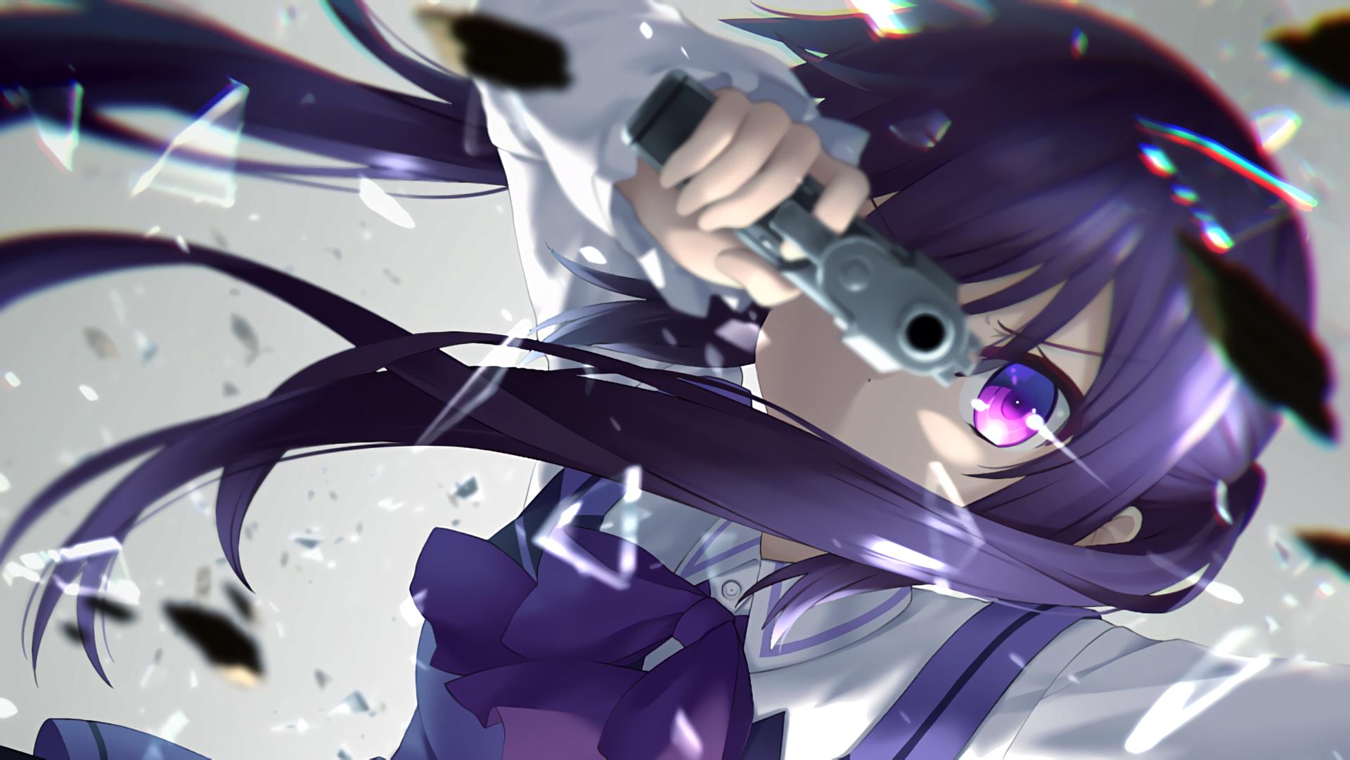 Anime Girl With Gun Buscar Con Google Anime Y Manga