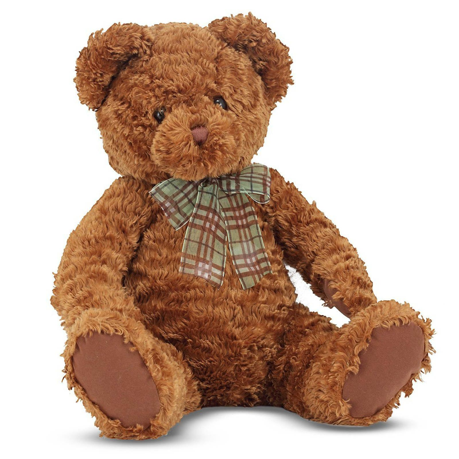 Details about Melissa And Doug Chestnut Bear 12 Inch Plush