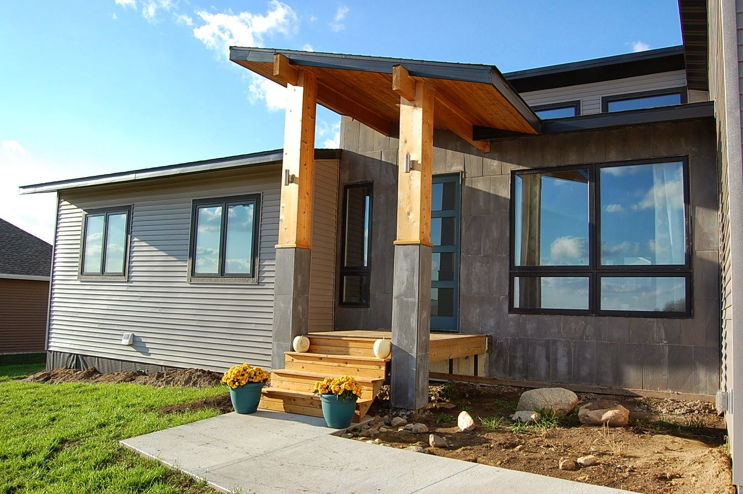 Wooden Front Porch Roof Designs Google Search Modern Front