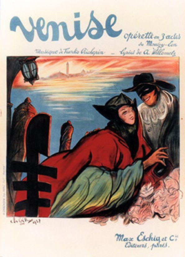 Venise, Opérette en 3 actes by Gir Ch / 1927