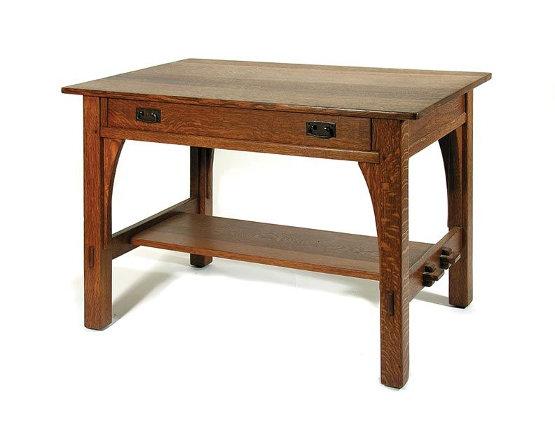 6 Arts amp Crafts Furniture Essentials Library Table