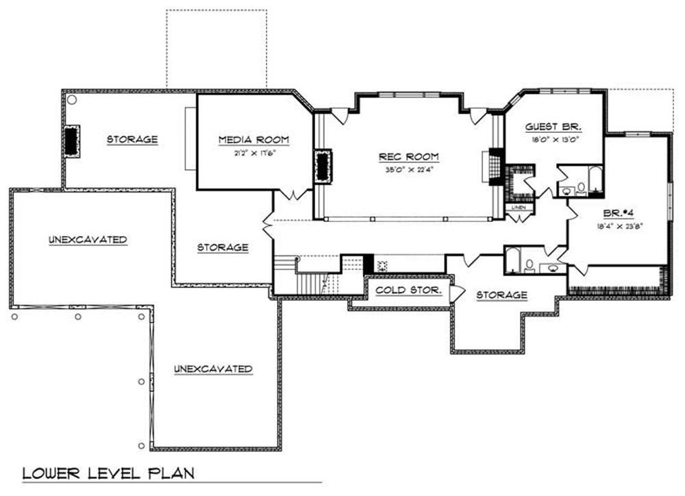 Large Images For House Plan 101 1361 Basement Floor Plans Basement Flooring House Floor Plans