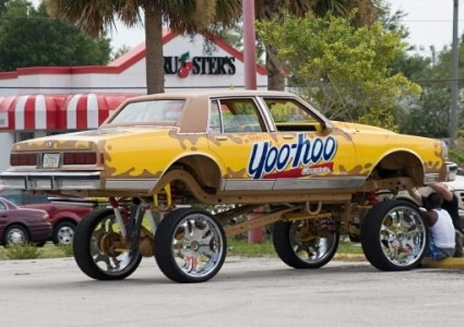 Pimped Out Product Placement The Most Ridiculous Donk Cars To Hit