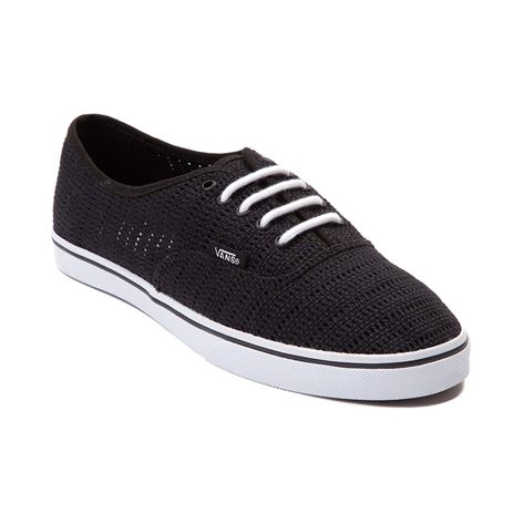 0afba34f Shop for Vans Authentic Lo Pro Mesh Skate Shoe in Black at Journeys ...