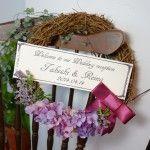 wedding welcome wreath-purple http://www.sowary.net/onlineranking_welcomeboard/