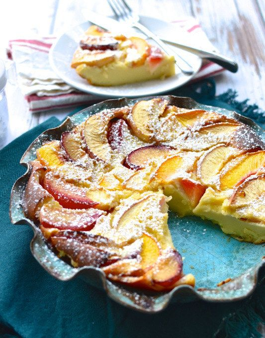 Stone Fruit Clafoutis   29 Healthier Versions Of Your Favorite Fall Sweets
