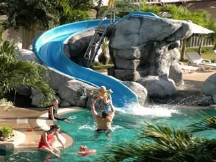 Swimming Pools With Slides And Waterfalls