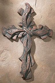 Metal Cross Wall Decor seven ribbon cross » gallery of crosses | cool crosses | pinterest