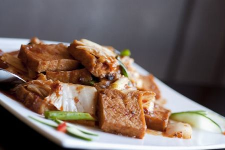 Mouthwateringly Good Szechuan Chinese Food Try The Eggplant In Fish Sauce Szechuan Fries And General Tao S Tofu Food Tofu Fish Sauce
