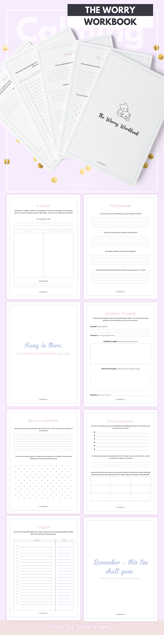 Workbooks paso a paso 1 workbook : When life gets hard, love yourself even harder. This printable ...