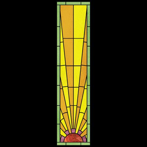 Art Deco Stained Glass | Art Deco Design 1D
