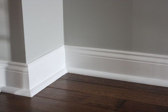 Flat Baseboards And Trim