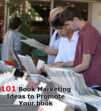 101 book marketing ideas to promote your book