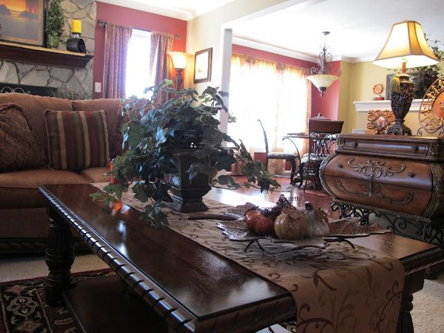 Tuscan/Old World Beach House Decorating Pinterest Living rooms