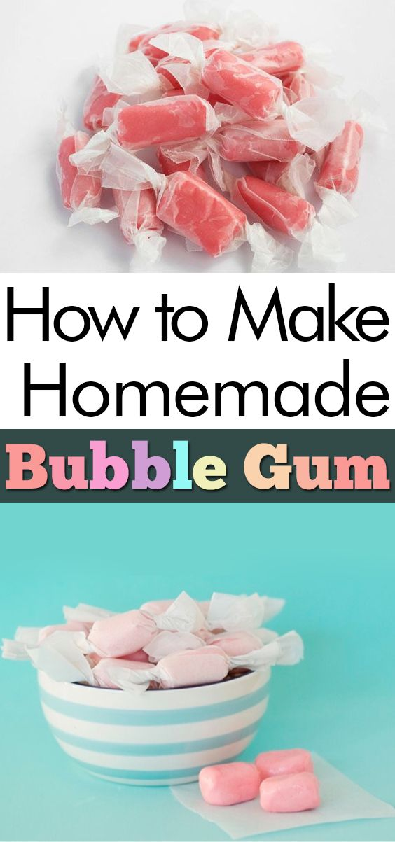 How To Make Homemade Bubble Gum Food Bubbles