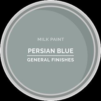 Milk Paint, Persian Blue #indoorpaintcolors