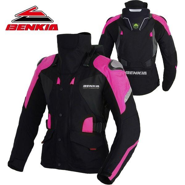 BENKIA Motorcycle Jacket Winter Women Jacket Winter Riding Motorbike Keep Warm Jacket With Linner Motorcycle Protector JD-W10 | Wish
