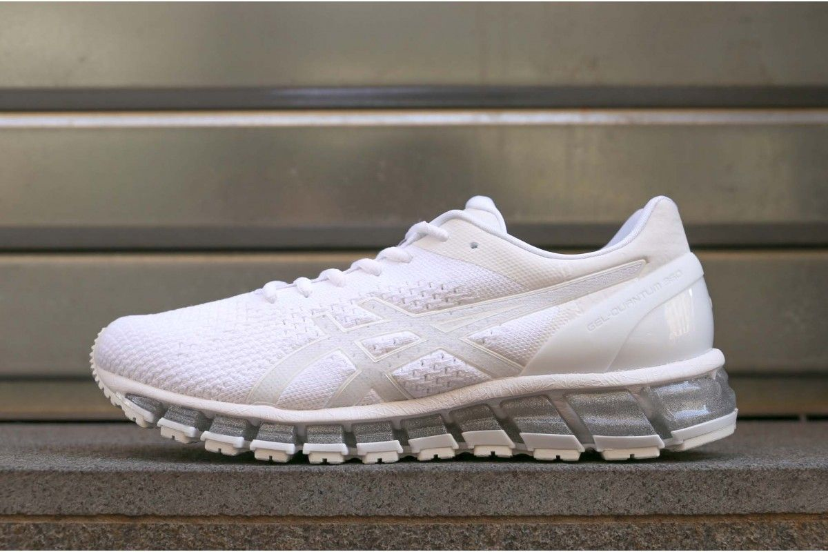 best service 35f71 d6503 Asics gel quantum 360 knit white snow silver | Men's Fashion