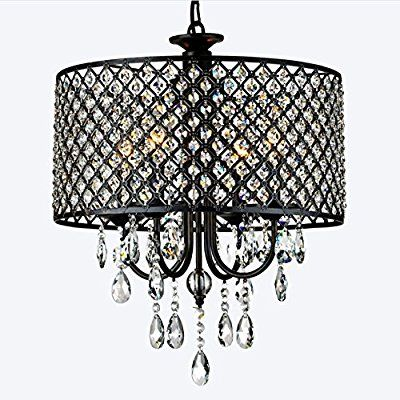 Charming Finish:Antique Bronze, Light Cand C Incand Denebola Drum Chandelier This  Beautiful Lighting Fixture With Shining Crystal Is A Perfect Addition To  Your Home. Amazing Pictures