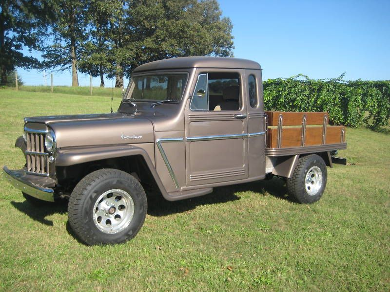 Extended Cab Willys Pick Up Willys Extended Cab Willys Jeep