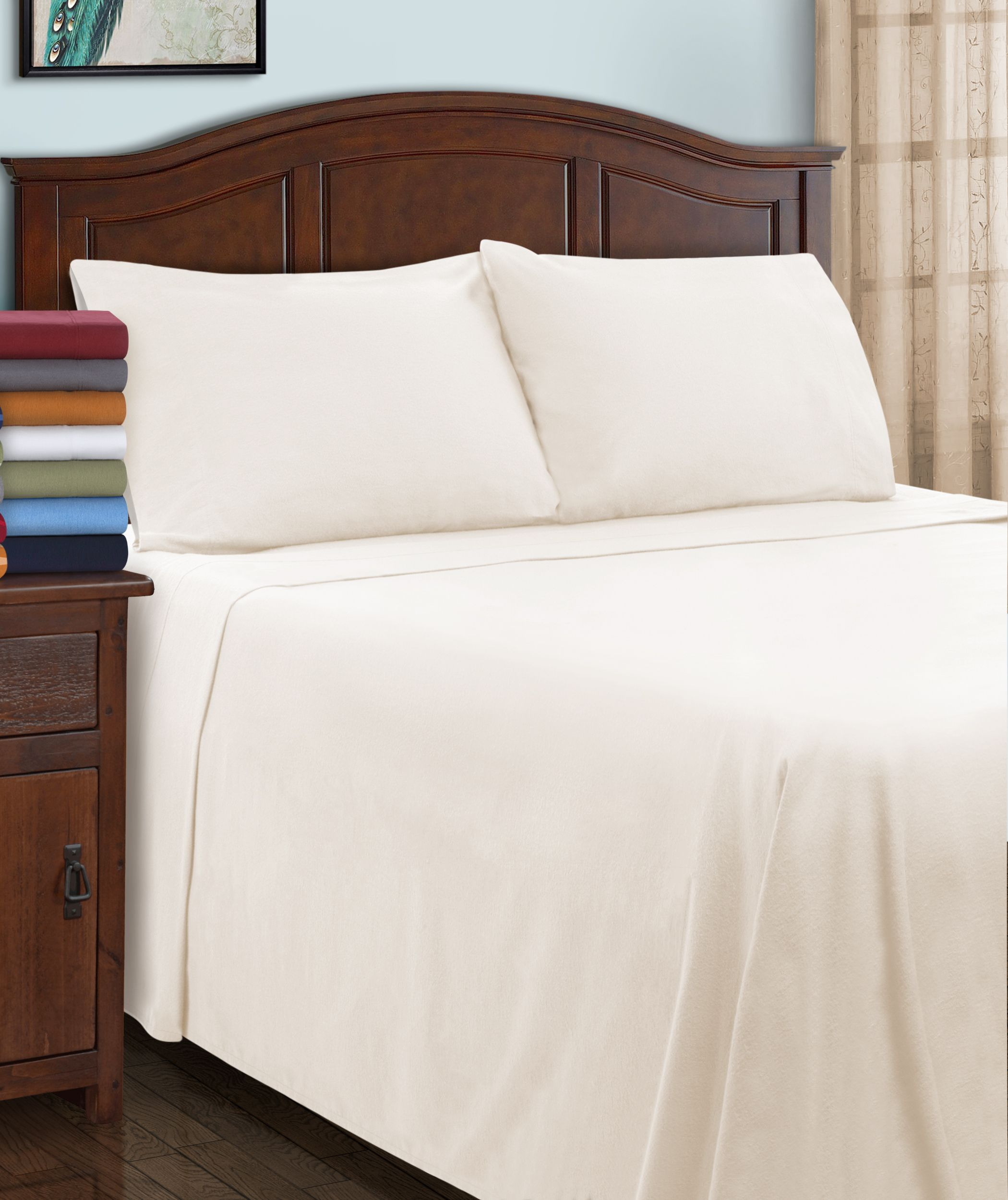 california king fitted sheet cotton