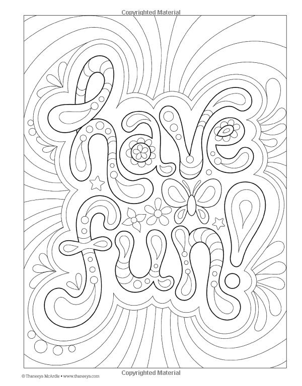 Good Vibes Coloring Book Is Fun Thaneeya McArdle 9781574219951 Amazon
