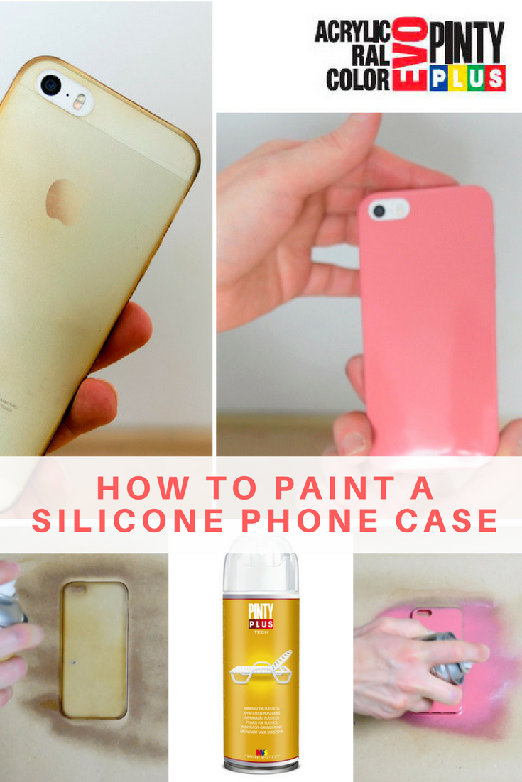 How To Paint A Silicone Iphone Case Makeover For Plastic Phone