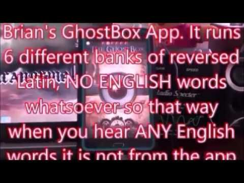 The New Ghost Box App from SoulSeekers UK   Paranormal/ITC