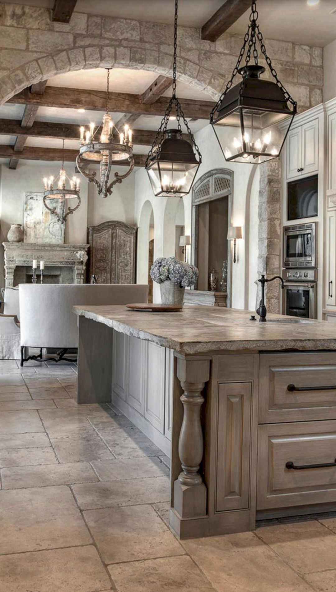 Italian Themed Kitchen Curtains Aid Toasters 15 Best Rustic Houses Decorating Ideas Homes