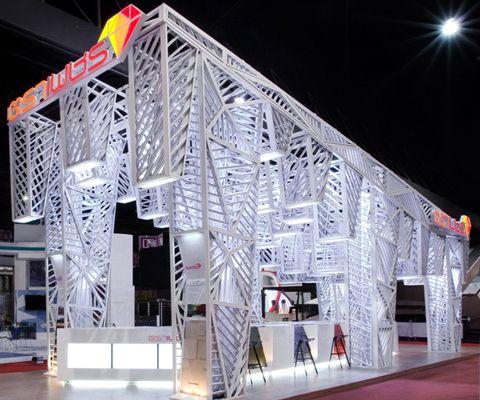 Diamond Lounge Booth Design Trade