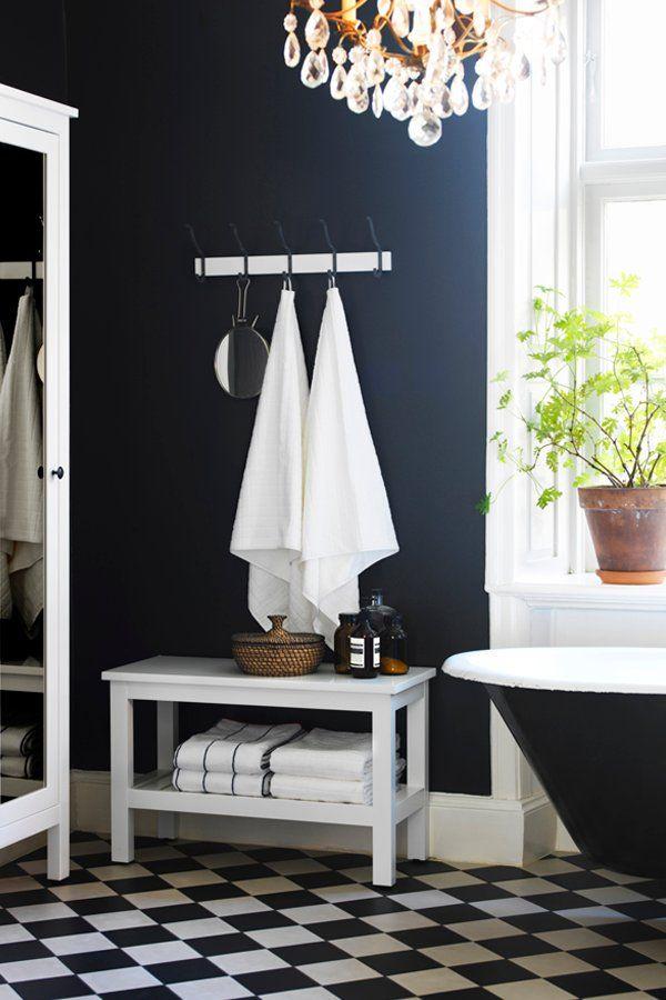 HEMNES Bench, white | HEMNES, Bathroom storage and Bath products