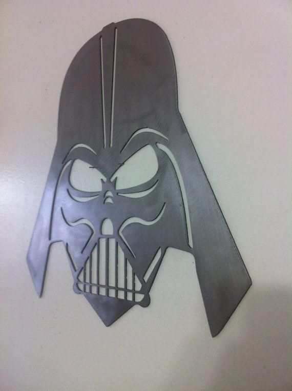 Star Wars Darth Vader Mask Metal Wall Art Diseno De Logotipos Disenos De Unas Regalos
