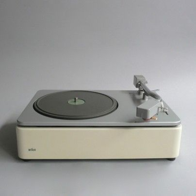 """PCS 45"" record player, designed by Dieter Rams, 1962, for Braun"