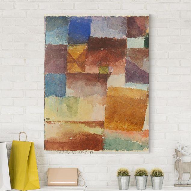 Stampa su tela - Paul Klee - Nel Deserto - Verticale 4:3 nel 2019 ...