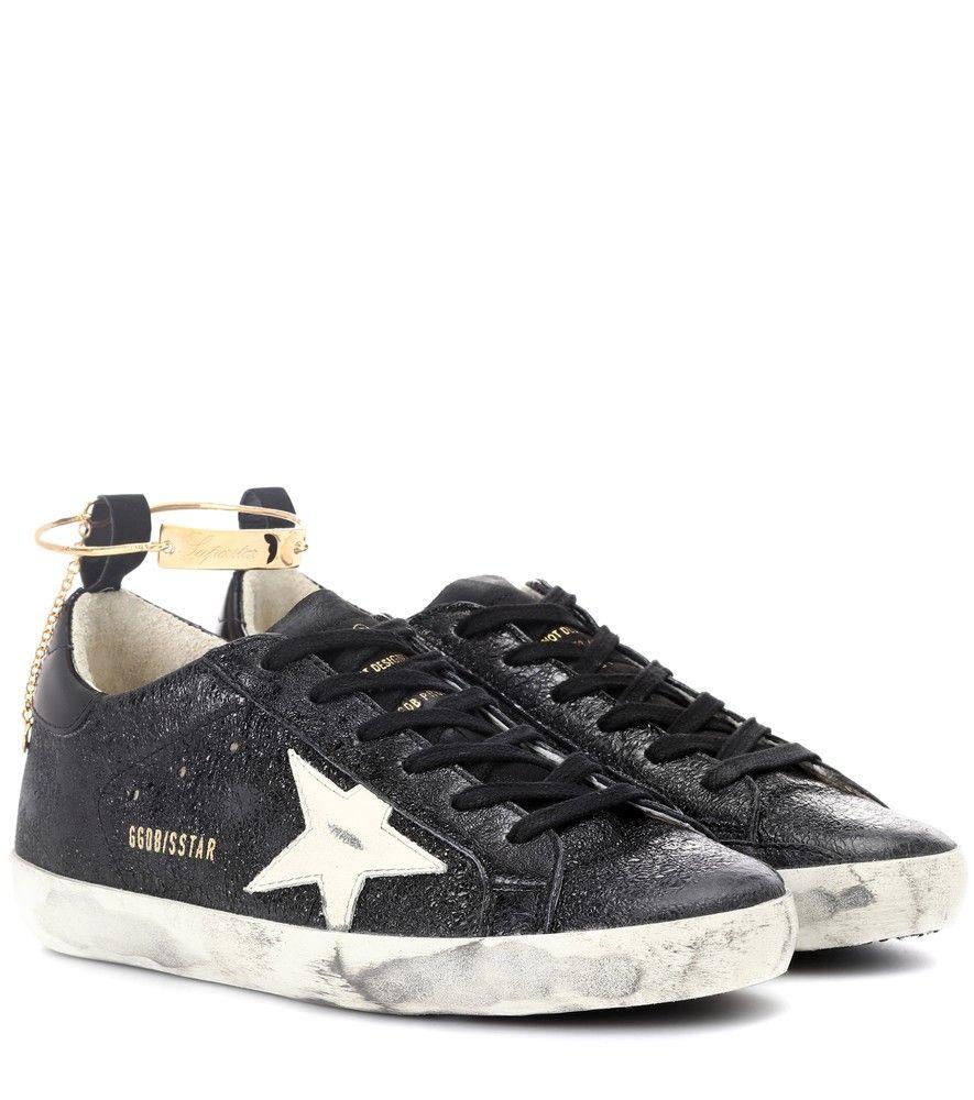 Golden Goose Deluxe Brand Sneakers Superstar aus Leder