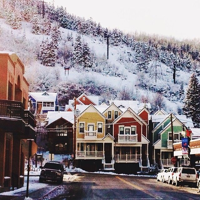 Best Places In The Us To Snowboard: Park City Utah, Places To