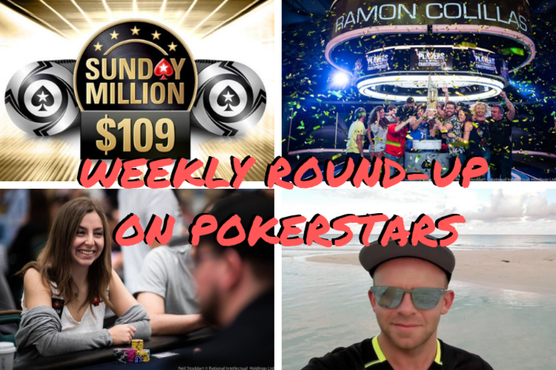 WEEKLY ROUNDUP New 109 Sunday Million PSPC champ on his