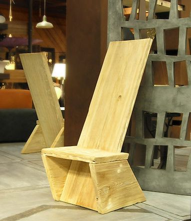 I Really Like This Plank Chair For Our Oregon Trail Study