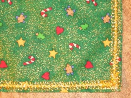 Little Bit of Christmas Tablecloth by CJHeirlooms on Etsy, $10.00