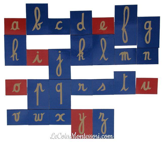 Relativ DIY : fabrication lettres rugueuses avec le gabarit des lettres OK  DB76
