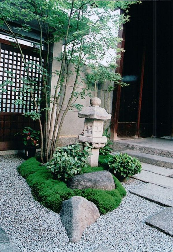 15 Cozy Anese Courtyard Garden Ideas