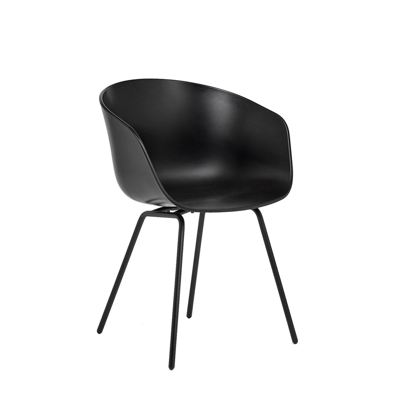 About a chair 26 svart/svart i gruppen Møbler / Stoler / Stoler hos ROOM21.no (1024511)