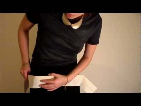 Pattern Cutting Tutorial: How To Fit Elasticated Waistband And Elastic Casing